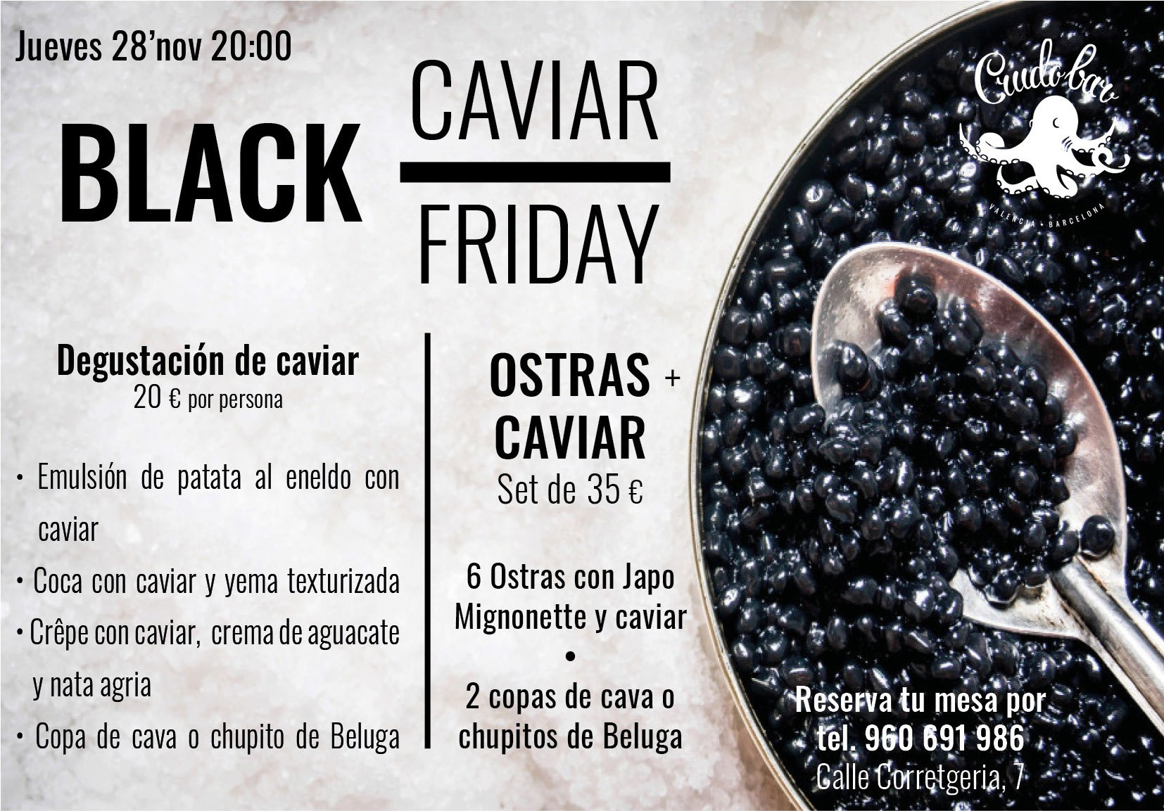 Black CAVIAR Friday